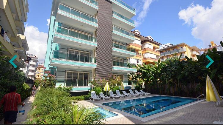 Apartment with 2 Bedrooms With Facilities in Alanya For Sale